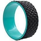 Колесо кільце для йоги та фітнесу EVA 33 х 13 см, фото 4