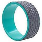 Колесо кільце для йоги та фітнесу EVA 33 х 13 см, фото 3