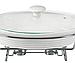 Мармит настольный керамический MAESTRO MR-11260-74 | блюдо с подогревом на подставке Маэстро, Маестро, фото 2
