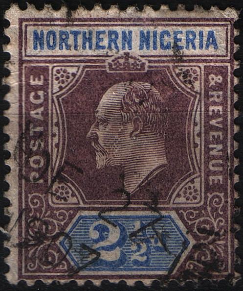 Севреная Нигерия Nigeria 1905 год