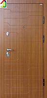 Двері вхідні Бастіон-БЦ Преміум Плюс Б-309 золотий Дуб, двері для квартири, офісу, двері броньовані