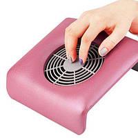 Вытяжка для маникюра Nail Dust Collector вентилятор + 3 мешочка Фиолетовый 707335972A, КОД: 148188