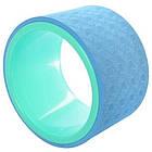 Колесо кольцо для йоги и фитнеса EVA 15 см, фото 5