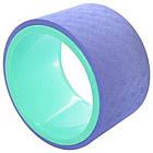 Колесо кольцо для йоги и фитнеса EVA 15 см, фото 4