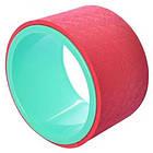 Колесо кольцо для йоги и фитнеса EVA 15 см, фото 3