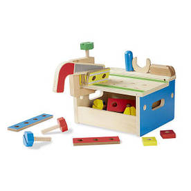 Игровой набор инструментов в ящике, 32 предмета, тематические наборы - профессии ТМ Melissa & Doug MD1938