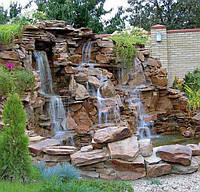 Установка каскадов и водопадов