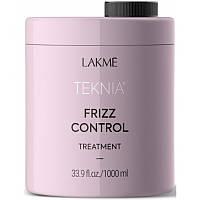 Lakme Teknia Frizz Control Treatment - Дисциплинирующая маска для непослушных или вьющихся волос 1000 мл