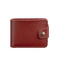Женское кожаное портмоне Blanknote 4.3 бордовое, фото 1