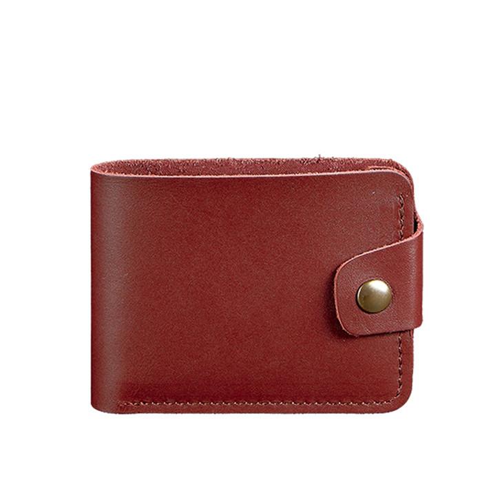 Женское кожаное портмоне Blanknote 4.3 бордовое