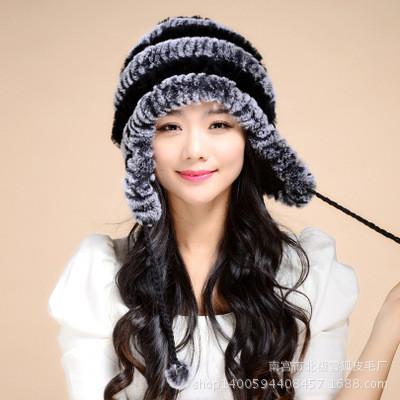 Женская меховая шапка. Модель 61514