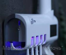 Диспенсер для зубной пасты и щеток автоматический Toothbrush Sterilizer, фото 3