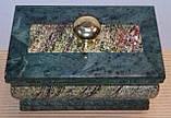 Шкатулка каменная прямоугольная, фото 2