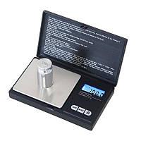 🔝Карманные электронные весы Professional-Mini на 200 г, черные, ювелирные для измерения граммов | 🎁%🚚