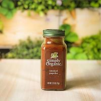 Органічна копчена паприка 77 г Simply Organic