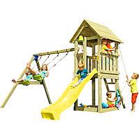 Детская игровая площадка KBT Blue Rabbit KIOSK + SWING Желтый, КОД: 1429333