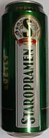 Пиво Staropramen svetle 0,500 мл ж.б