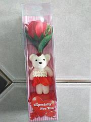 Ароматическая роза мыло с игрушкой 28-1