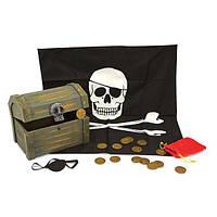 Игровой набор Пиратский сундук, тематические наборы - Пираты ТМ Melissa & Doug MD2576