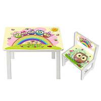 Детский стол со стульчиком Bambi (BSM1-01)