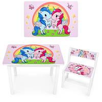 Детский стол со стульчиком Bambi (BSM1-04)