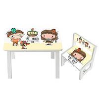 Детский стол со стульчиком Bambi (BSM1-07)
