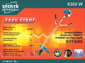 Бензокоса Spektr SGT-6300 Professional (нож+леска)