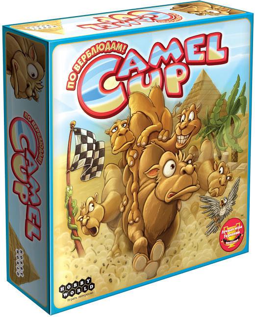 Настольная игра Hobby World Camel Up. По верблюдам! (1426)