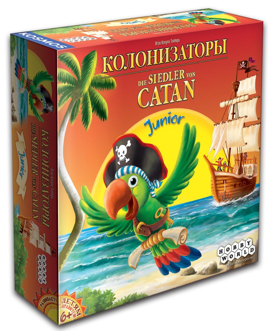 Настольная игра Hobby World Колонизаторы Junior (4620011812704)