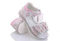 Детские сандалии сандали босоножки для девочки розовые бабочки CBT.T 30р 17,5см