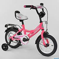 """Велосипед детский двухколесный CORSO 12"""" (CL-12 D 0373) Розовый"""