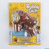 Пістолет з мильними бульбашками (603) музичний