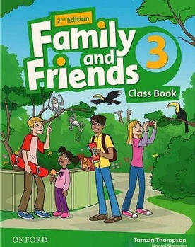 Family & Friends 3 Class Book 2nd Edition