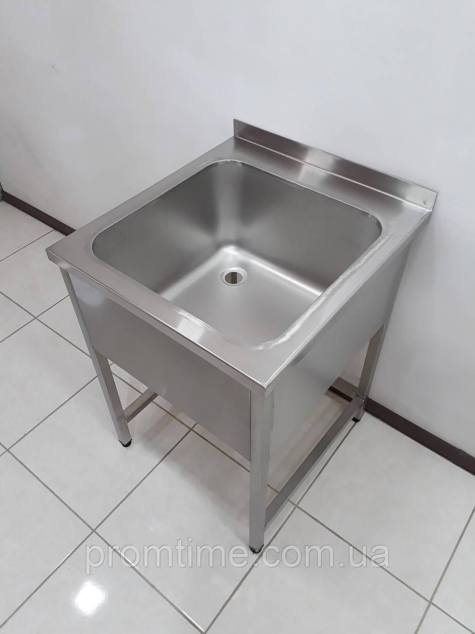 Ванна моечная (Цельнотянутая 304 сталь) 600х650х850