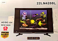 Телевізор TV 22'' 22LN4200L 12v/220v DVB T2