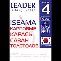 Крючок Leader Iseama BN 10