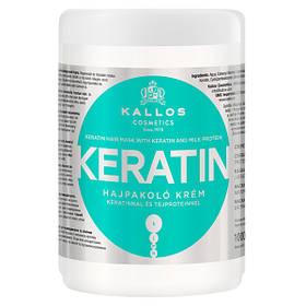 Маска для волос Kallos Kerotin 1л (питание и укрепление)