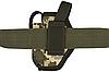Кобура поясная Форт-12 с чехлом под магазин (Oxford 600D, пиксель), фото 4
