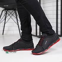 Мужские кроссовки красная подошва, фото 3