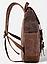 Рюкзак дорожный текстильный Vintage 20057 Коричневый, фото 3