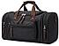 Дорожная сумка текстильная Vintage 20080 Черная, фото 2