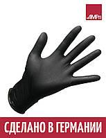 Перчатки нитриловые Ampri Puracomfort черные