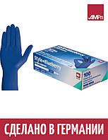 Перчатки нитриловые Ampri Style Blueberry темно-синие