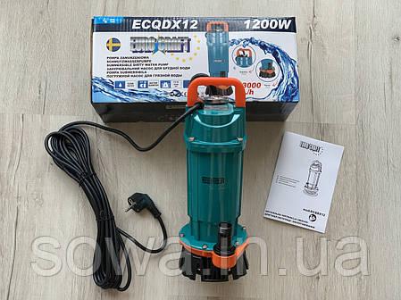 Погружной насос для грязной воды Euro Craft ECQDX12 / 1200Вт, фото 2