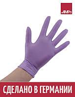 Перчатки нитриловые Ampri Style Berry светло-сиреневые