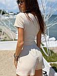 Женский летний костюм двойка с шортами и топом 8310898, фото 4