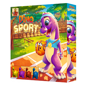 Игра настольная Bombat Game Dino Sport (2-4 игрока, 4-12 лет) | Настольный игровой набор