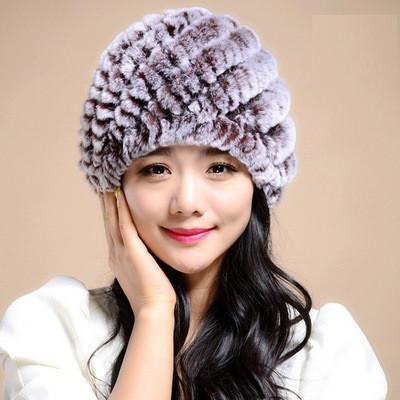 Женская меховая шапка. Модель 61518