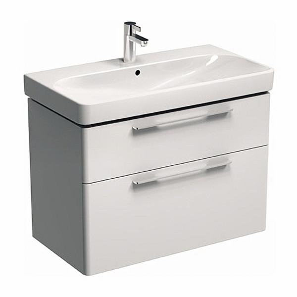 TRAFFIC шкафчик под умывальник 86,8*62,5*46см, белый глянец (пол.)