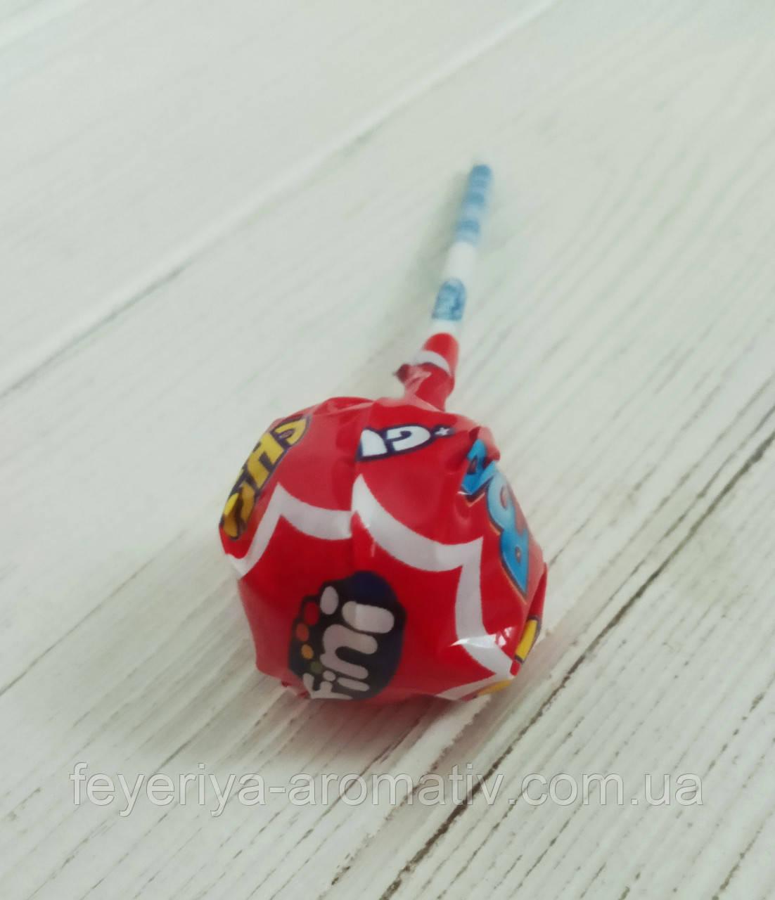 Леденец на палочке со жвачкой Fini Pop Cherry (Испания)